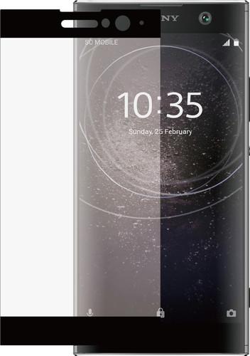 Azuri Gehard Glas Sony Xperia XA2 Screenprotector Glas Zwart Main Image