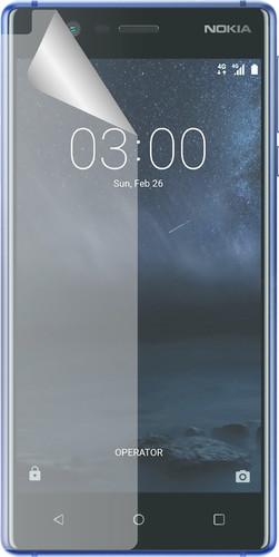 Azuri Nokia 3 screenprotector Plastic Duo Pack Main Image