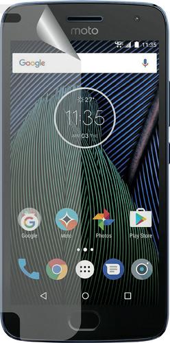 Azuri Motorola Moto G5 Plus Screen Protector Plastic Duo Pack Main Image