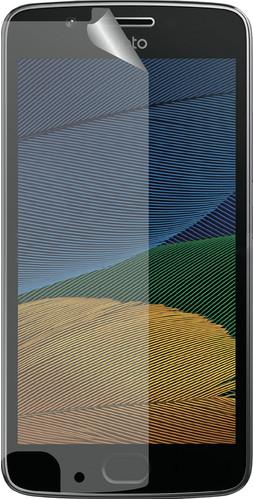 Azuri Motorola Moto G5 Screenprotector Plastic Duo Pack Main Image