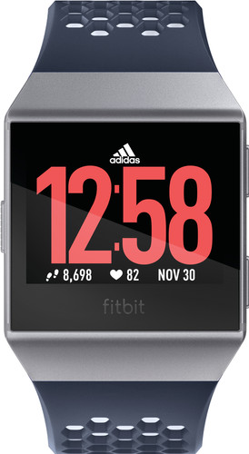 Fitbit Ionic Adidas Edition Ink Blue & Ice Gray Main Image