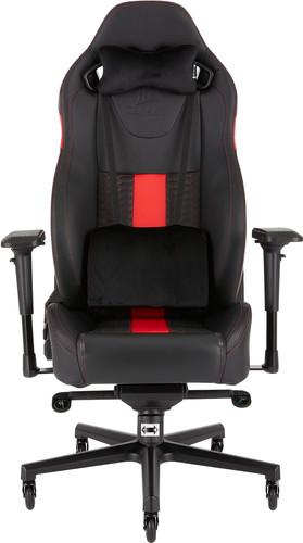 Corsair T2 Road Warrior Gaming Chair Zwart/Rood Main Image