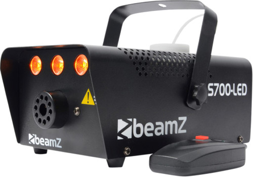 Beamz S700 LED Smoke machine with flame effect Main Image