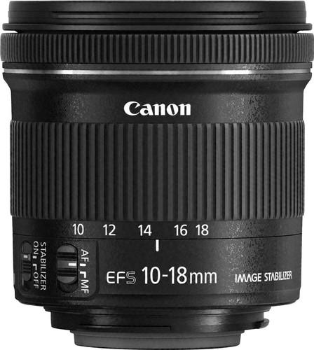 Canon EF-S 10-18mm f/4.5-5.6 IS STM Main Image