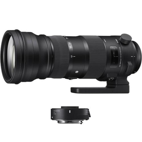 Sigma 150-600mm f/5-6.3 DG OS HSM S Nikon + TC-1401 1.4x Main Image
