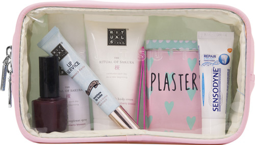 SUITSUIT Fabulous Fifties Toilettas Pink Dust Transparant Main Image