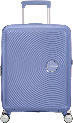 American Tourister Soundbox Expandable Spinner 55cm Denim Blue Main Image