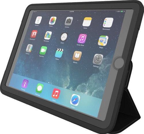 sale retailer e10c5 603d1 ZAGG Rugged Messenger Apple iPad (2017)/(2018) Cover Black