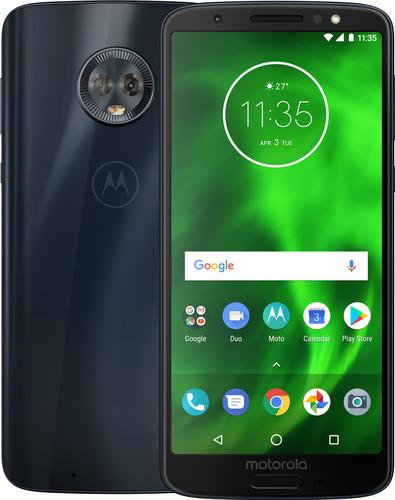 Motorola Moto G6 Blauw Main Image