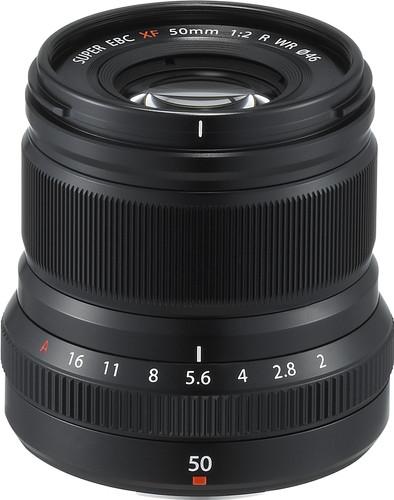 Fujifilm XF 50mm f/2.0 R WR Zwart Main Image