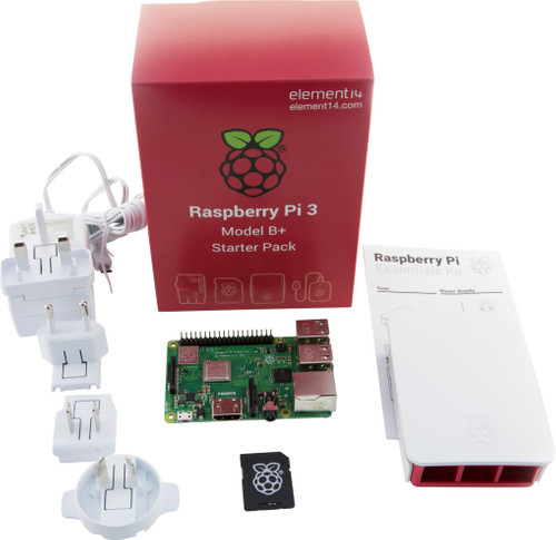 Raspberry Pi 3 Model B+ Starters Kit Main Image