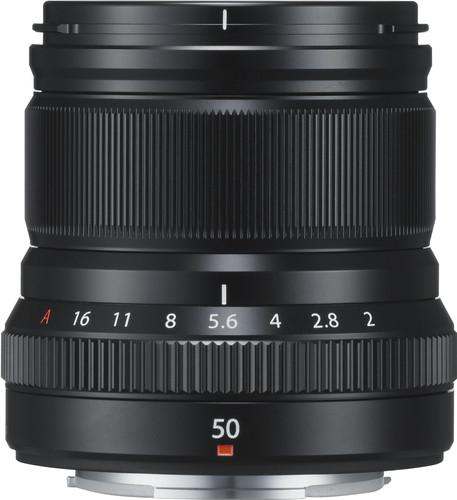 Fujifilm XF 50mm f/2.0 R WR Black Main Image