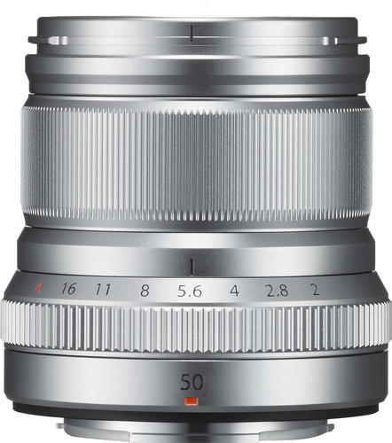 Fujifilm XF 50mm f/2.0 R WR Zilver Main Image