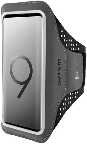Mobiparts Comfort Fit Sports Bracelet Samsung Galaxy S9 Black Main Image