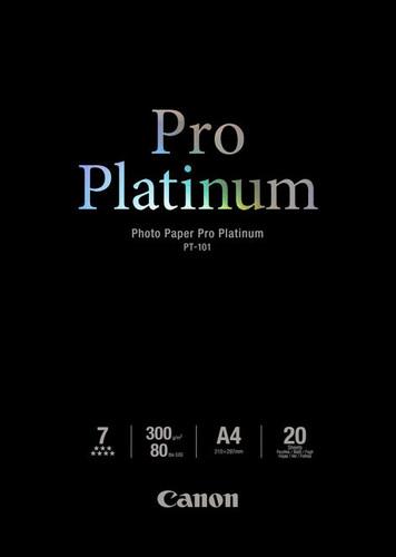 Canon PT-101 Pro Platinum Fotopapier 20 Vellen A4 Main Image