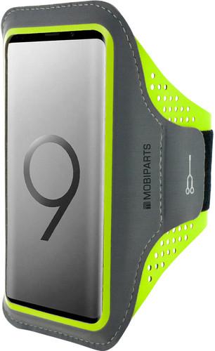 Mobiparts Comfort Fit Sports Bracelet Samsung Galaxy S9 Plus Green Main Image