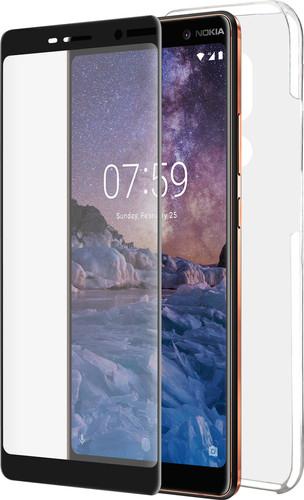 Azuri Protection Nokia 7 plus Full Body Transparant Main Image