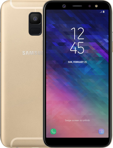 Samsung Galaxy A6 (2018) Goud Main Image