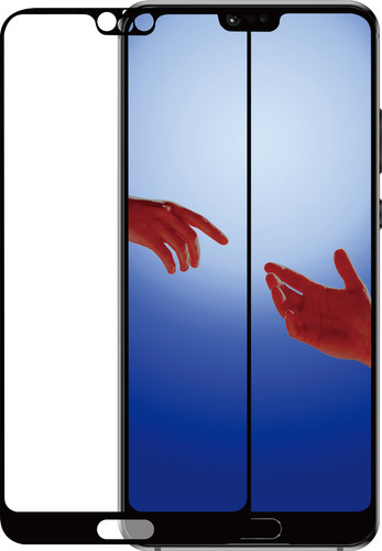 Azuri Tempered Glass Huawei P20 Screen Protector Glass Black Main Image