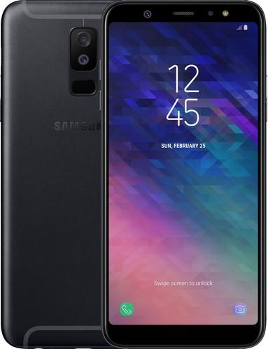 Samsung Galaxy A6 Plus (2018) Zwart Main Image