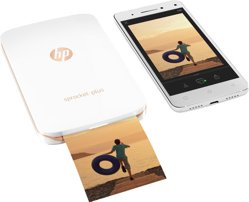 HP Sprocket Plus 2FR85A Wit Main Image