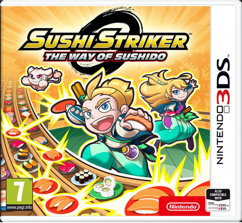 Sushi Striker: The Way of Sushido 3DS Main Image