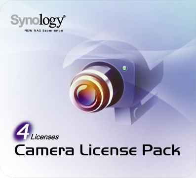 Synology Camera Licentie 4 Pack Main Image
