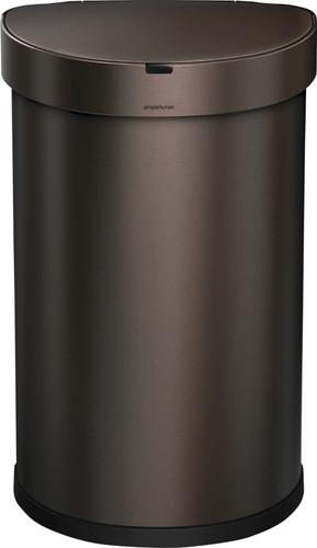 Simplehuman Semi-round Sensor Liner Pocket 45 Liter Brons Main Image