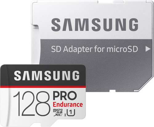Samsung microSDXC PRO Endurance 128GB 100 MB/s + SD Adapter Main Image