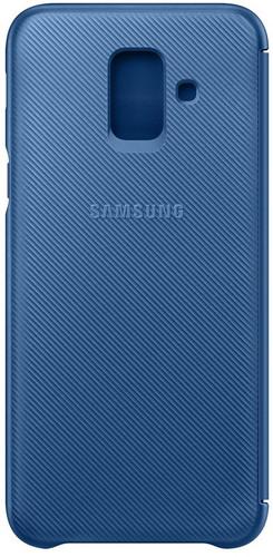 Samsung Galaxy A6 (2018) Wallet Cover Book Case Blauw Main Image