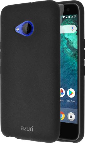 Azuri Flexible Sand HTC U11 Life Back cover Black Main Image