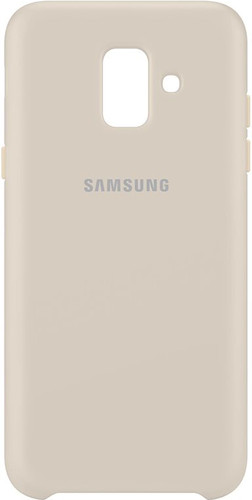Samsung Galaxy A6 (2018) Dual Layer Cover Back Cover Beige Main Image