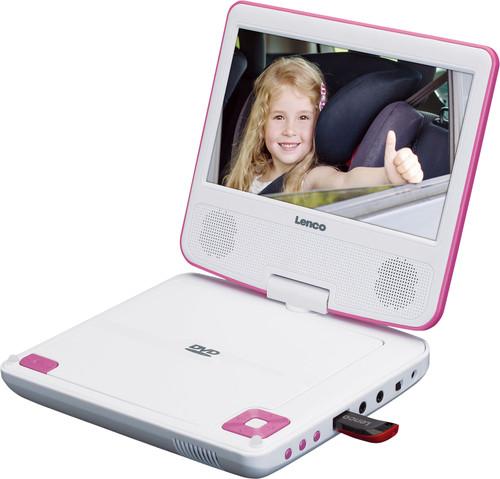 Lenco DVP-710 Roze Main Image
