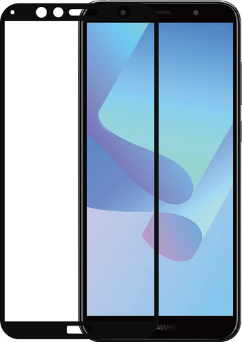 Azuri Tempered Glass Huawei Y6 (2018) Screen Protector Glass Black Main Image