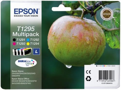 Epson T1295 Large 4-Color Multi-pack (4 colors) C13T12954010