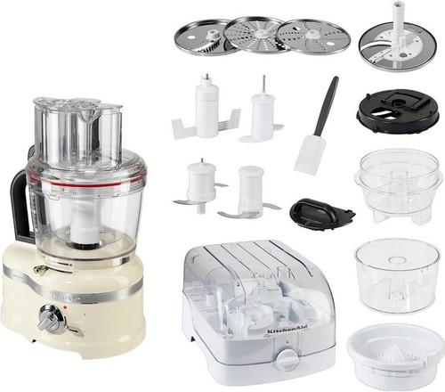 KitchenAid Artisan Foodprocessor Amandelwit Main Image