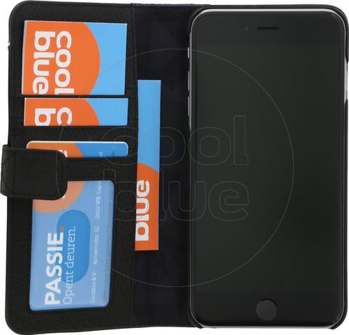 Decoded Leather 2-in-1 Wallet Case Apple iPhone 6 Plus/6s Plus/7 Plus/8 Plus Zwart Main Image