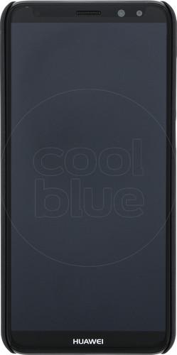 Azuri Metallic Soft Touch Huawei Mate 10 Lite Back Cover Black Main Image