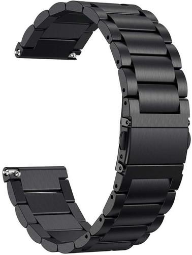Just in Case Fitbit Versa RVS Horlogeband Zwart Main Image