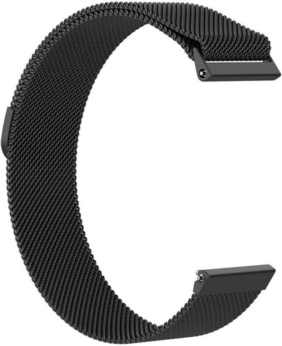 Just in Case Fitbit Versa Milanees Horlogeband Zwart Main Image