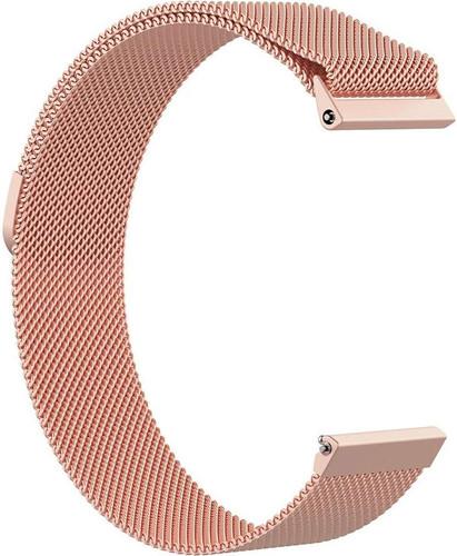 Just in Case Fitbit Versa Milanees Horlogeband Rose Goud Main Image