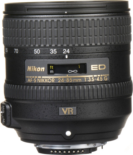 Nikon AF-S 24-85mm f/3.5-4.5G ED VR Main Image