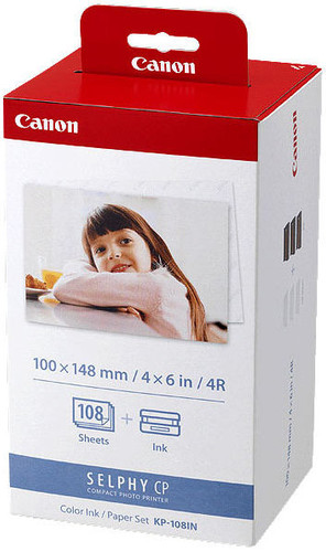 Canon KP-108IN Fotopapier & Inktset Main Image