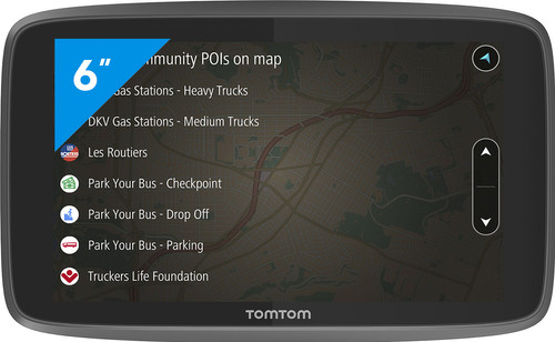 TomTom Go Professional 6200 Europa Main Image