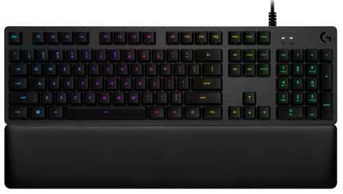 Logitech G513 Clicky Mechanical Gaming Keyboard QWERTY Main Image