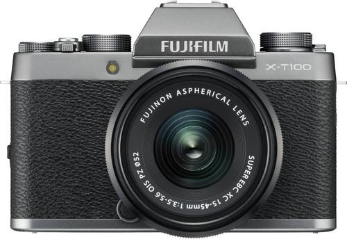Fujifilm X-T100 Silver + XC 15-45mm OIS PZ Main Image
