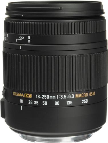 Sigma F 18-250mm f/3.5-6.3 DC Macro OS HSM Nikon Main Image