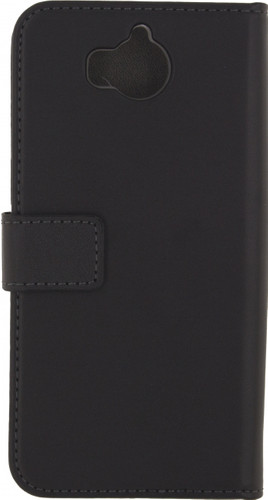 Mobilize Classic Gelly Wallet Huawei Y6 (2017) Book Case Black Main Image
