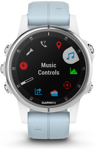 Garmin Fenix 5s Plus Blue Main Image