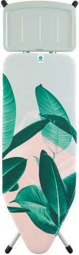 Brabantia Ironing Board C 124x45cm Tropical Leaves Steam Generator Main Image